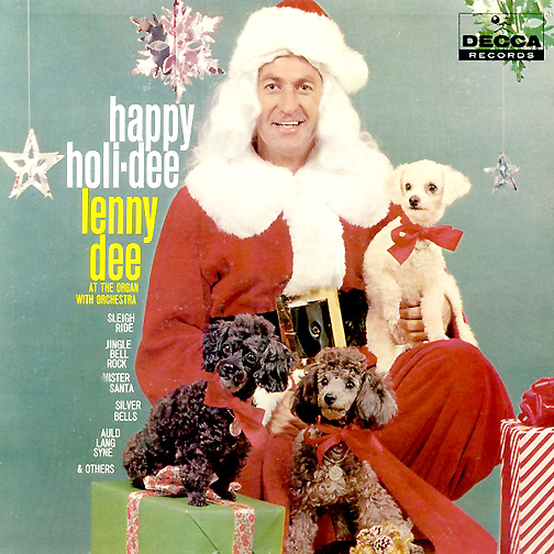Lenny Dee On The Cover Of His Classic Christmas Album